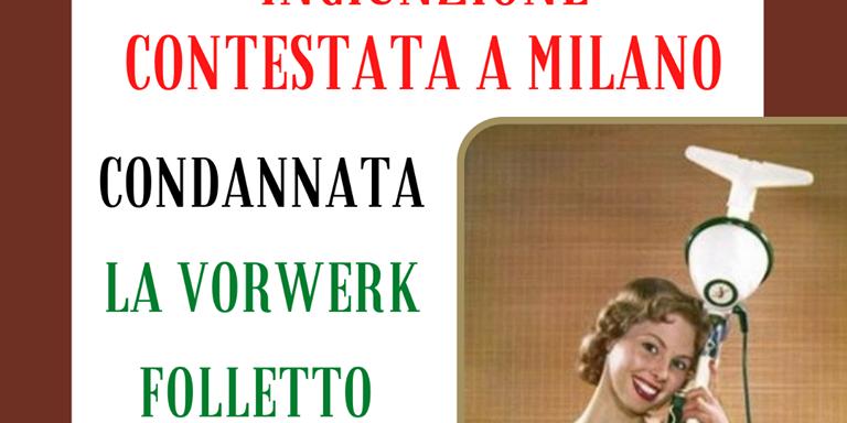 Condannata La Vorwerk Folletto A Favore Del Consumatore Studio Legale Capone